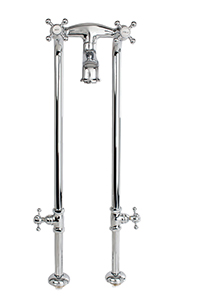 Cheviot 5138/3970-CH Free-Standing Tub Filler, Chrome Faucet